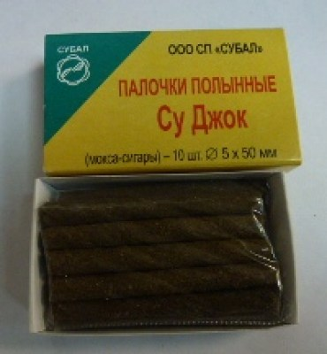 Moxa cigars (ø 5 mm х 50 mm) (10 pcs)